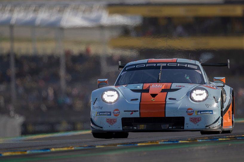 Gulf Racing UK Porsche 911 RSR, 24 Stunden von Le Mans 2019 von Rick Kiewiet