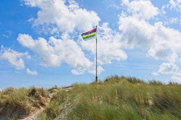 Terschellinger-Flagge von Albert Wester Terschelling Photography