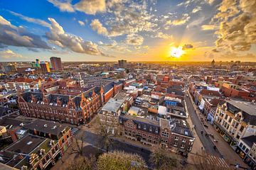 Blick über die Stadt Groningen von Rudmer Zwerver