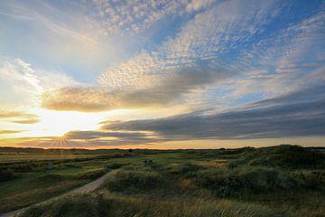 Texel Golfplatz Übersicht von Peter van Weel
