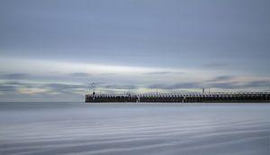 Nieuwpoort - pier - Long exposure