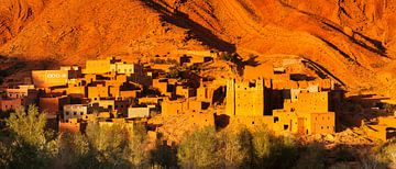 Kasbah in Ait Arbi, Dadestal, Street of Kasbahs, Marokko, van Markus Lange