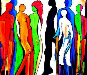 Figurengruppe von