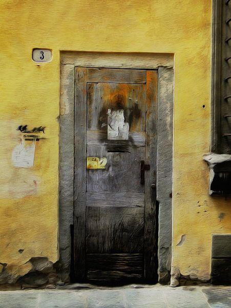 Doors serie - Italia 4 van Joost Hogervorst