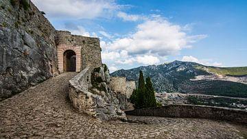 Klis Fortress, Split, Kroatie van David Lawalata