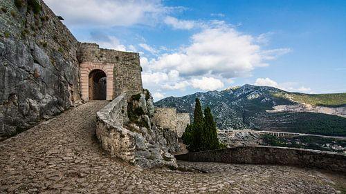 Klis Fortress, Split, Kroatie van