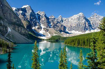 Lake Moraine, Canada van Rens Piccavet