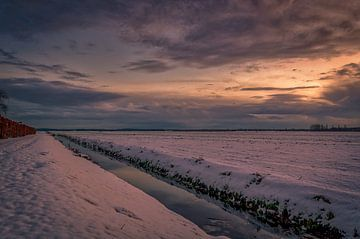 Sneeuw in Westbroek von Robin Pics (verliefd op Utrecht)