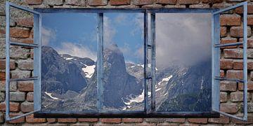 Fensterblick -Hochkönig von Christine Nöhmeier