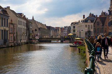 Op wandeling in Gent I van Ronald De Neve