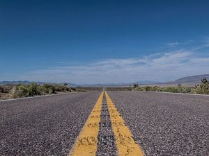 Road to Somewere in Nevada
