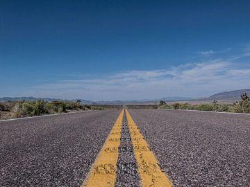 Road to Somewere in Nevada  van martin von rotz