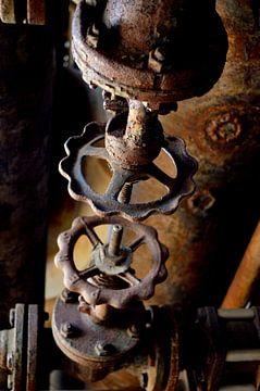 Roestige fabriek von Nicole de Leest