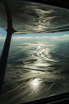 Waddenzee in vogelvlucht van Jesse Barendregt