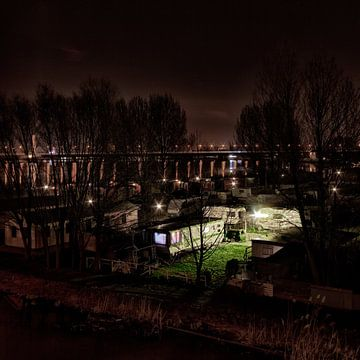 Camping Zeeburg van Jesse Kraal