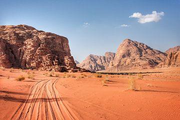 Wadi Rum Wüste Jordanien von Bart Schmitz