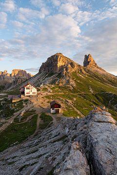 Dolomiten bei Sonnenaufgang sur Severin Pomsel