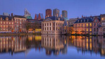 Mauritshuis Museum, Het Torentje,  Binnenhof en Skyline Den Haag van Rob Kints