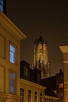 Utrecht Domtoren 16 van John Ouwens
