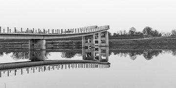 Zaligebrug in Nijmegen Lent van Patrick Verhoef