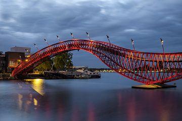 Amsterdamer Python-Brücke von Arno Prijs