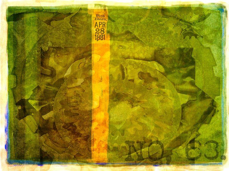 Collage groen no. 63. Archief van Rietje Bulthuis
