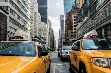 Taxi in de stad