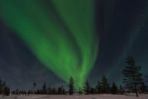 poollicht in Finland lapland 2020