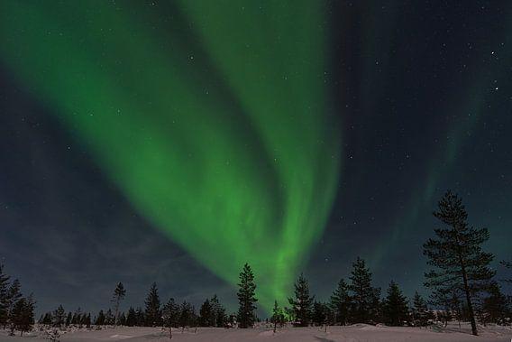 Polarlicht in Finnland Lappland 2020