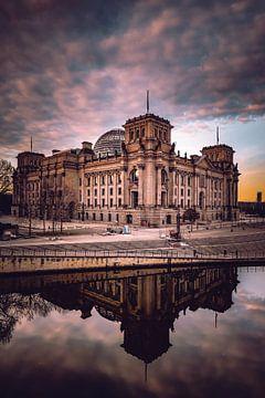 Reichstag Berlin van Iman Azizi