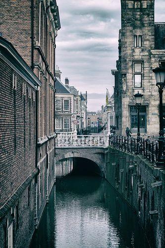 De Drift in Utrecht met zijn vele bruggen. (2) van