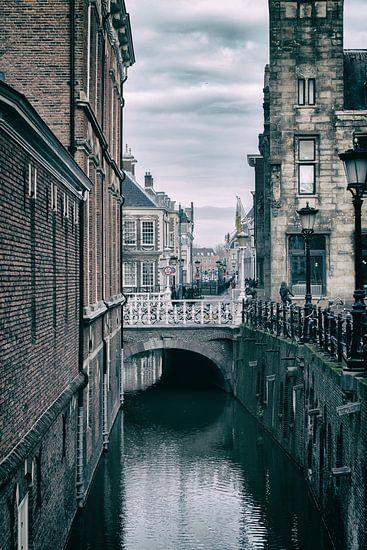 De Drift in Utrecht met zijn vele bruggen. (2)
