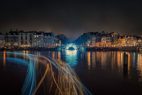 Amsterdam Light Event van Reinier Varkevisser