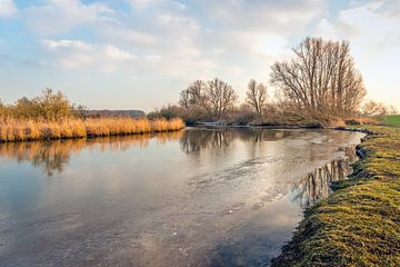 Brede kreek in de Biesbosch von Ruud Morijn
