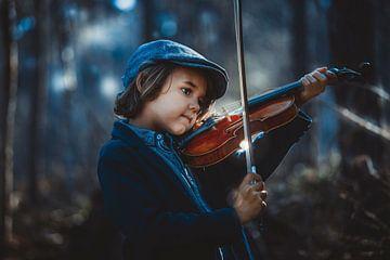 ik en mijn viool