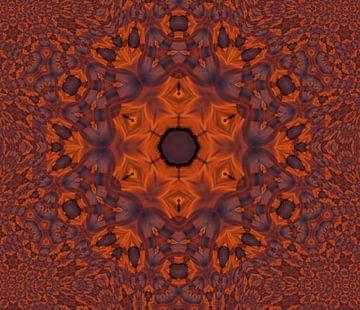 zonsondergang van de bloem van ART & DESIGN by Debbie-Lynn