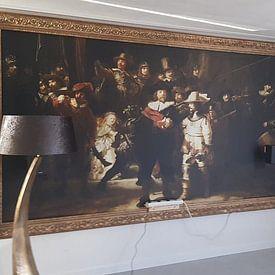 Photo de nos clients: The Night Watch, Rembrandt van Rijn sur Rembrandt van Rijn