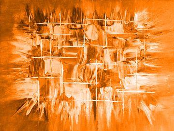 Explosion orange von Katrin Behr