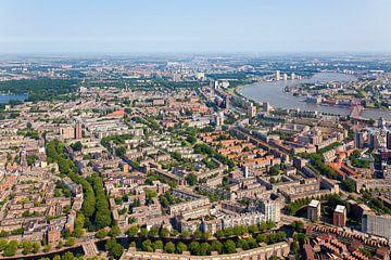 Luchtfoto Kralingen te Rotterdam van Anton de Zeeuw