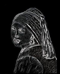 Das Mädchen mit dem Perlenohrring.