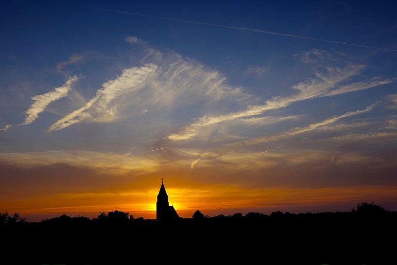 Dutch Sunset van Harry Hadders