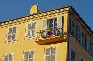Balkon in Nice van Romuald van Velde