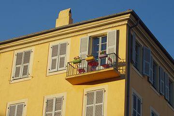 Balkon in Nizza von Romuald van Velde