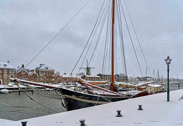Alter Hafen Hellevoetsluis von Bob de Bruin