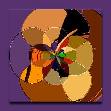 Digitale Rosette van Rosi Lorz