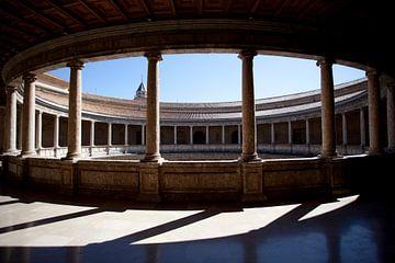 Alhambra, Spanien von Kees van Dun