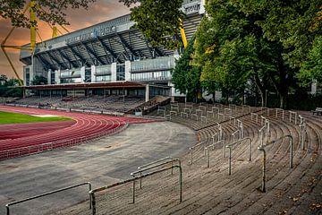Blick aufs Stadion von Johnny Flash