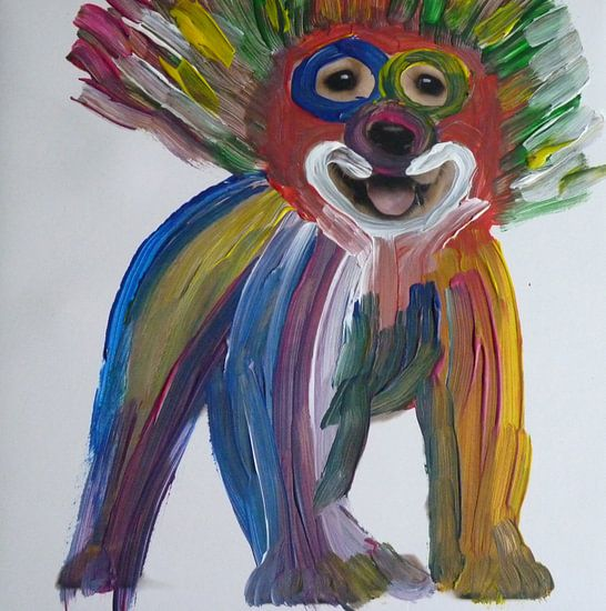 Colored Doggy