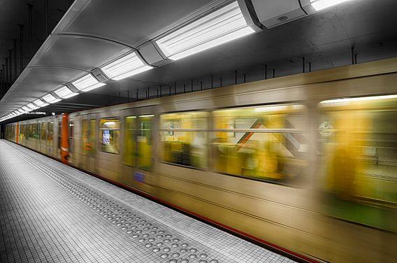 Metro in kleur