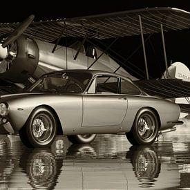 Het ontwerp van de Ferrari 250GT Lusso in 1963 is tijdloos van Jan Keteleer